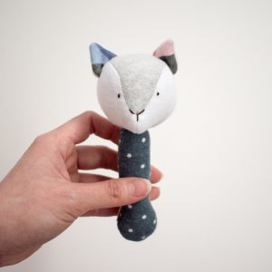 Grey Fox Rattle
