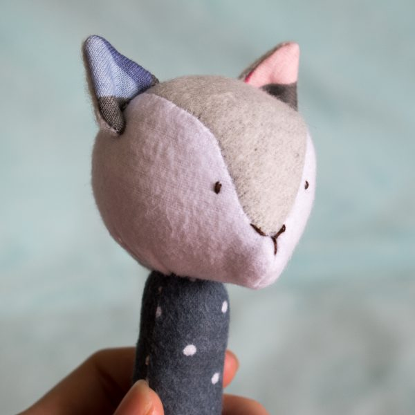Toy Fox Rattle