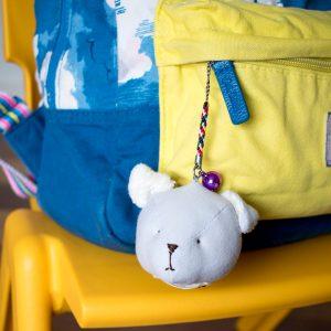 Dog bag charm