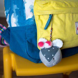 Mouse Bag Charm