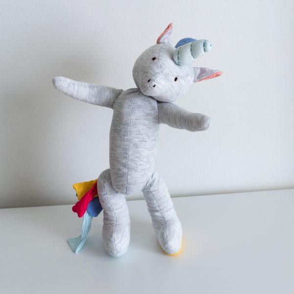 Bright Rainbow Unicorn Wide