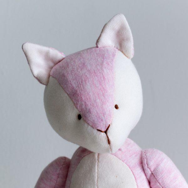 Pink Fox Portrait