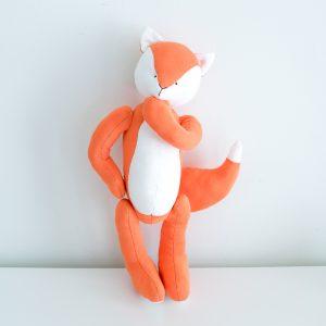 Orange Kitsune Fox